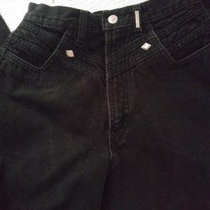 "Rocky Mountain ""Rockies"" Black Jeans Size 28"